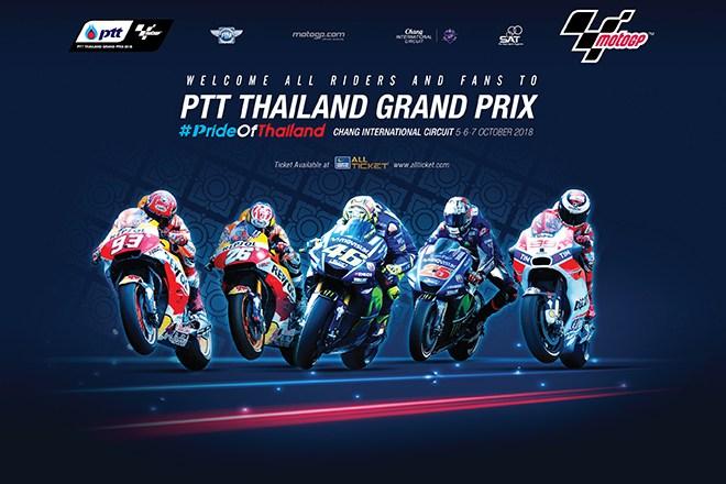 PTT Thailand Grand Prix – Horario Mundial / World Schedule / Orari Mondiali
