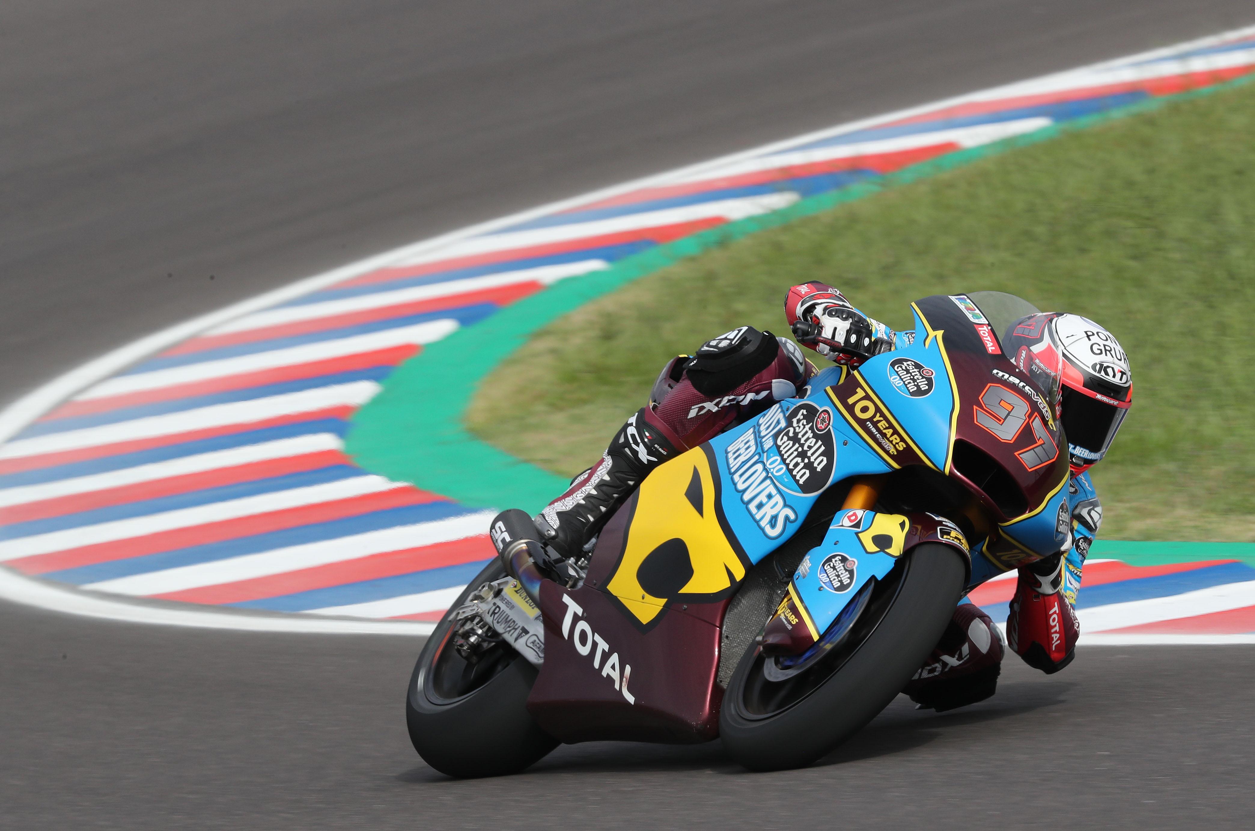 Xavi Vierge hace la segunda pole española en el GP de Argentina