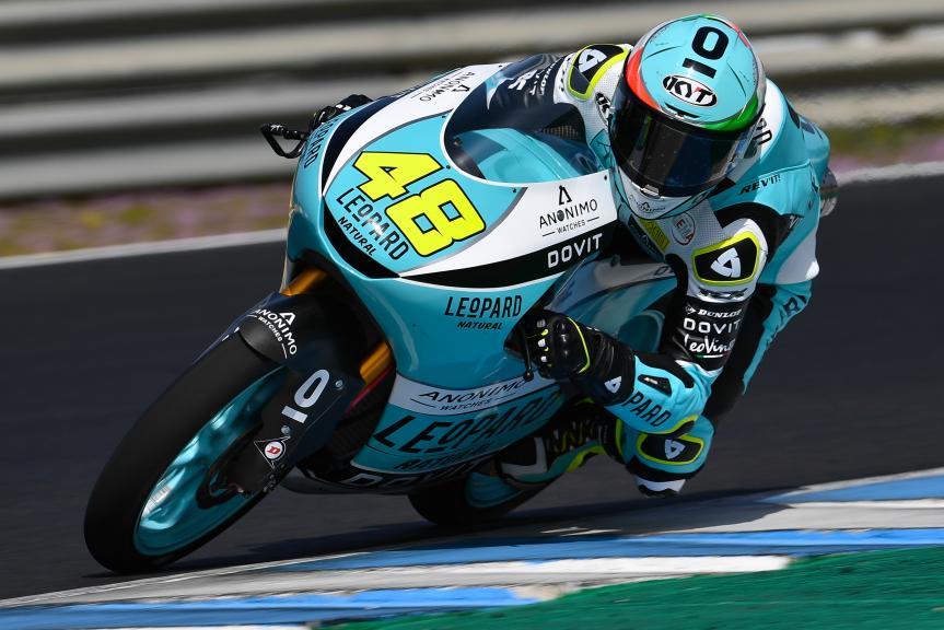 Lorenzo Dalla Porta se hace con la primera pole del año. Canet y Masià en problemas