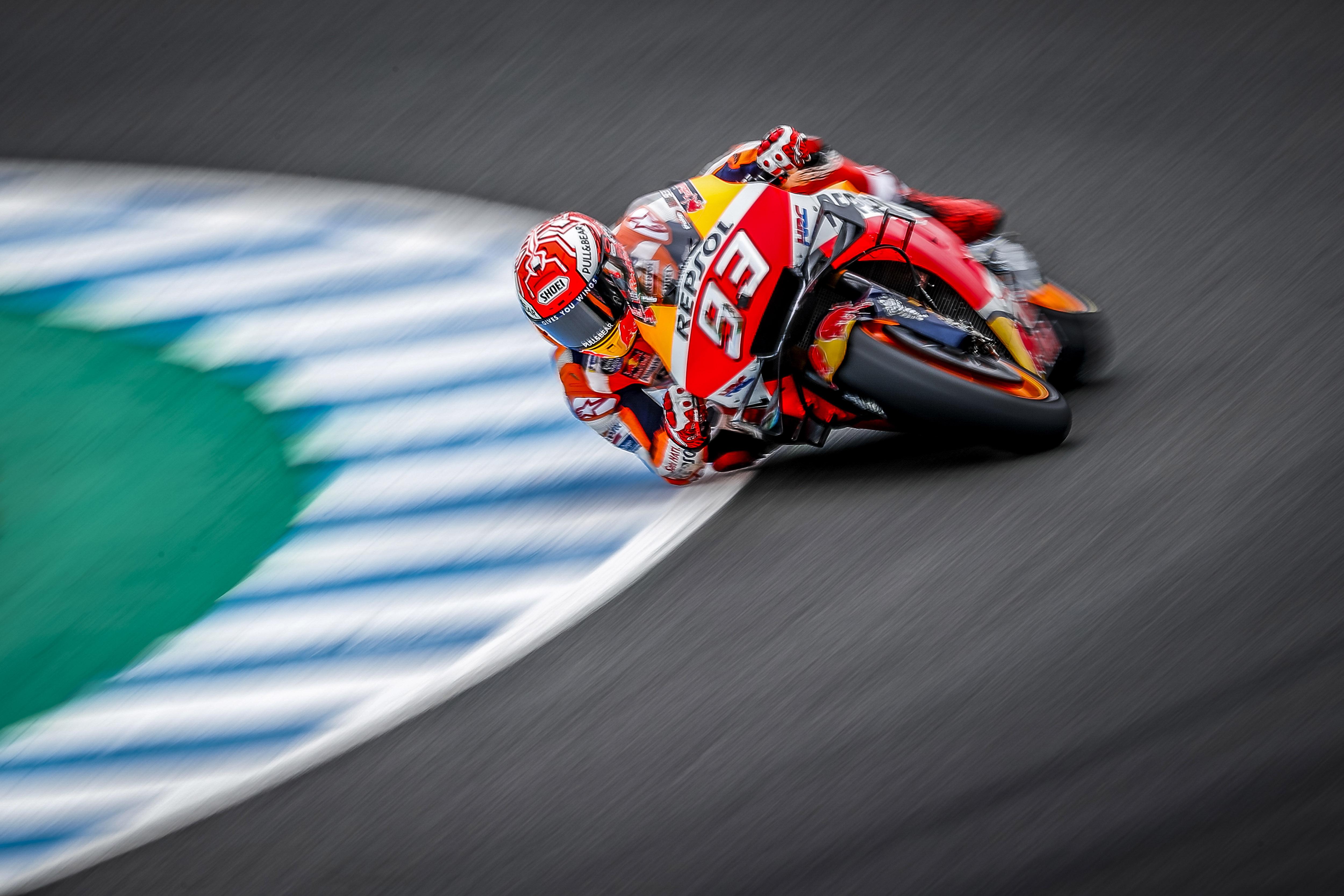 Marc Márquez gana en Jerez. Álex Rins brilla para llegar 2º
