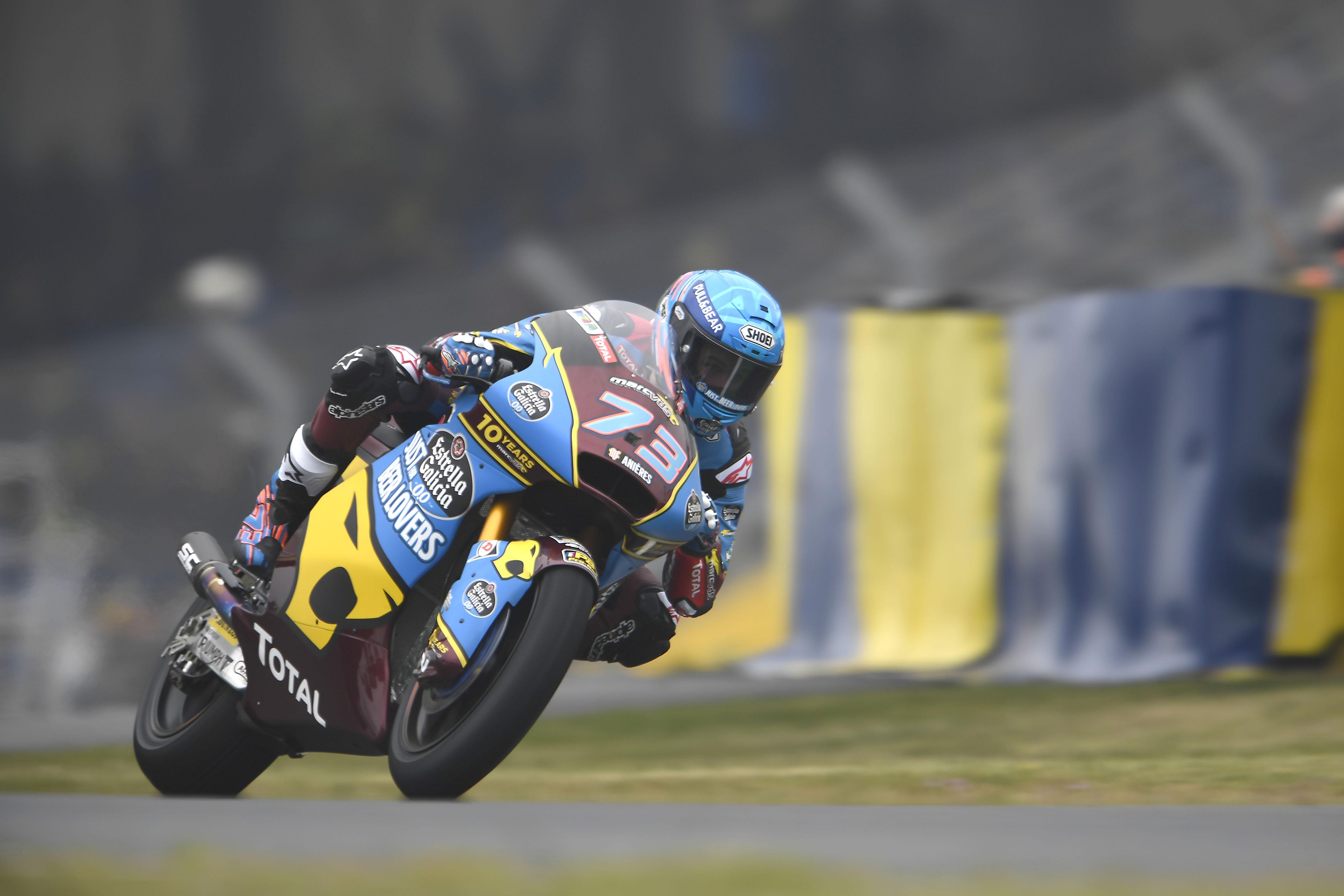 Magistral victoria de Álex Márquez el día del triplete español en Le Mans