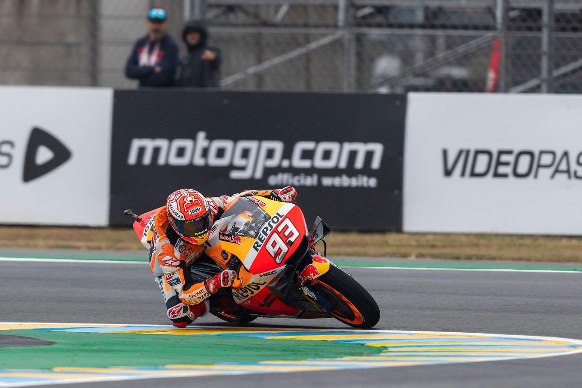 Marc Márquez y Honda brillan en Le Mans con la victoria 300 de la marca