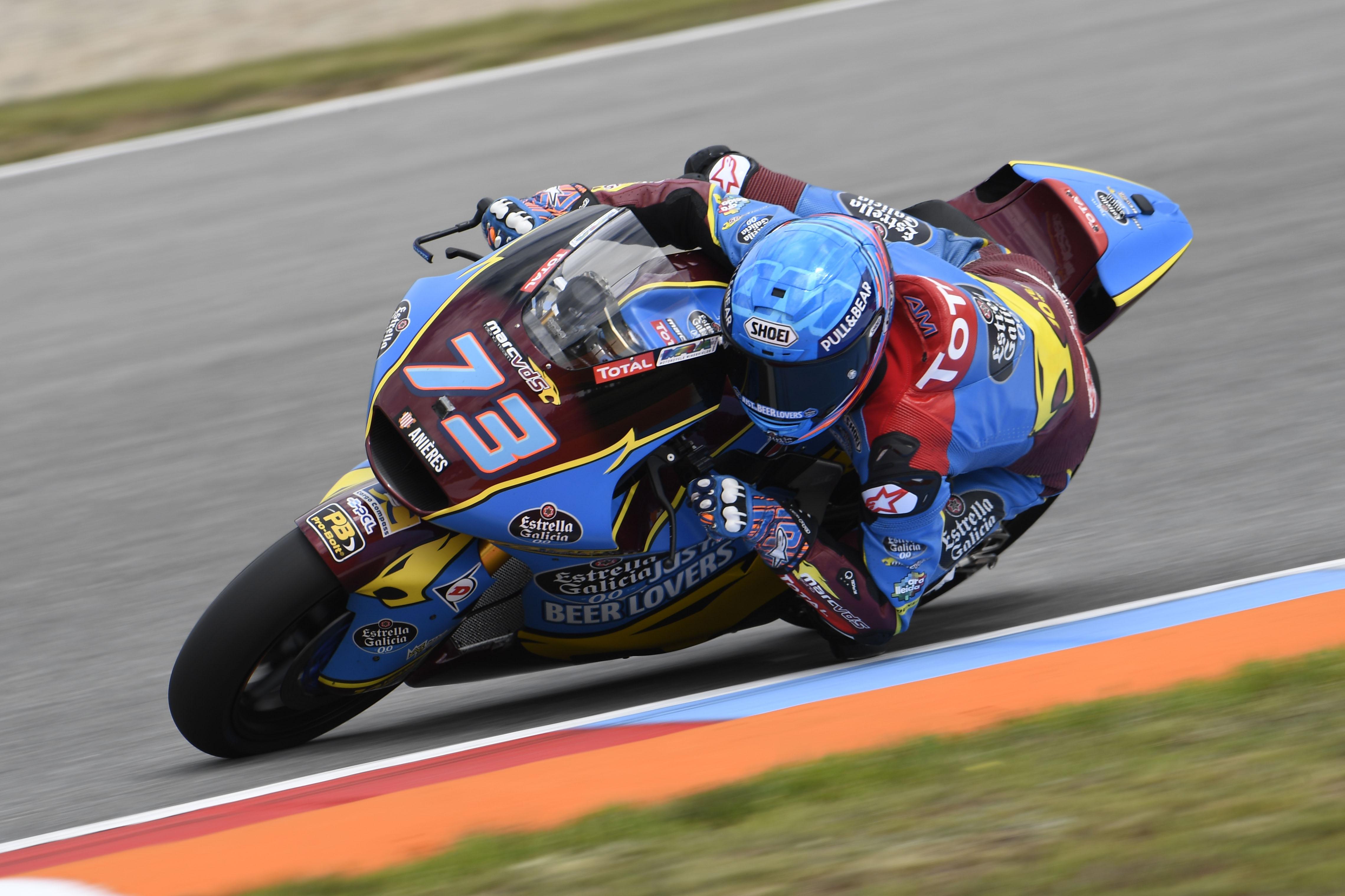 Álex Márquez logra una holgada pole en las difíciles condiciones de Brno