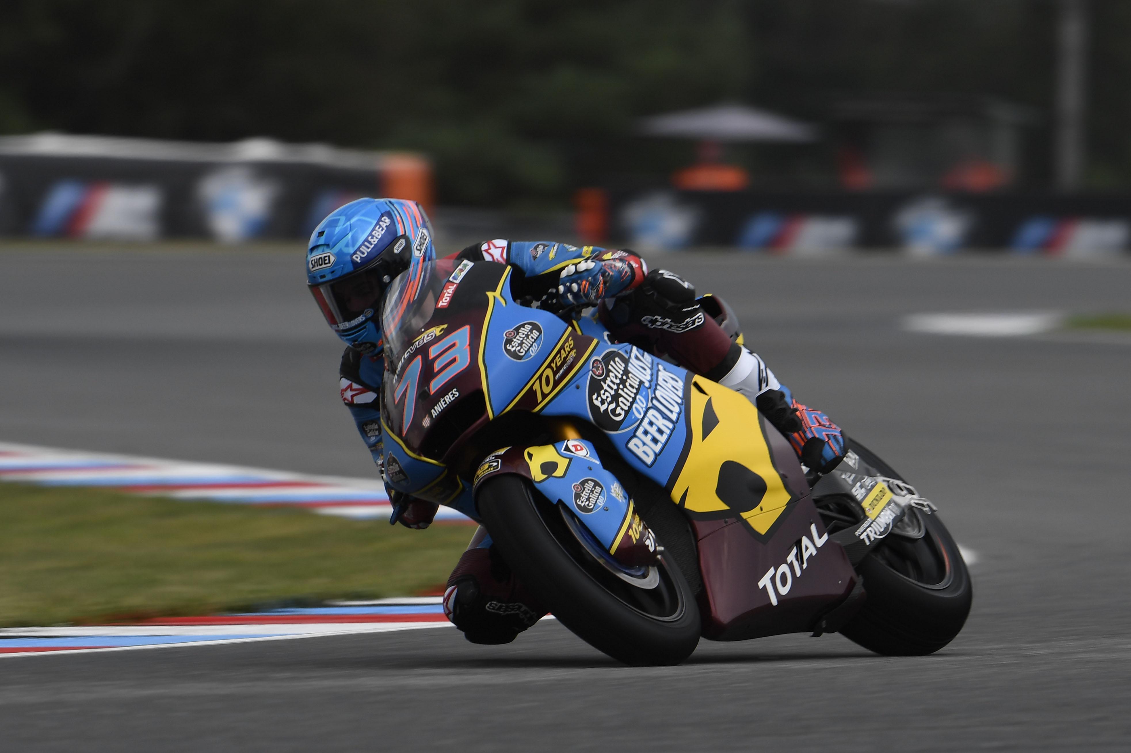 Incontestable victoria de Álex Márquez en Brno que es más líder de Moto2