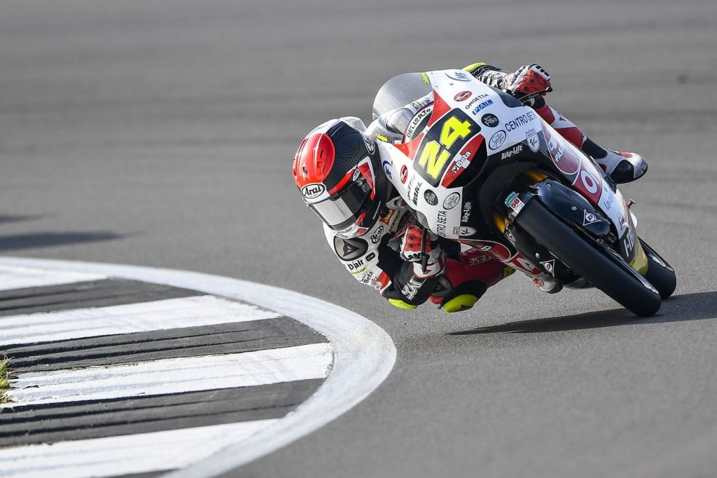 Tatsuki Suzuki se gradúa en San Marino con su primera pole en Moto3