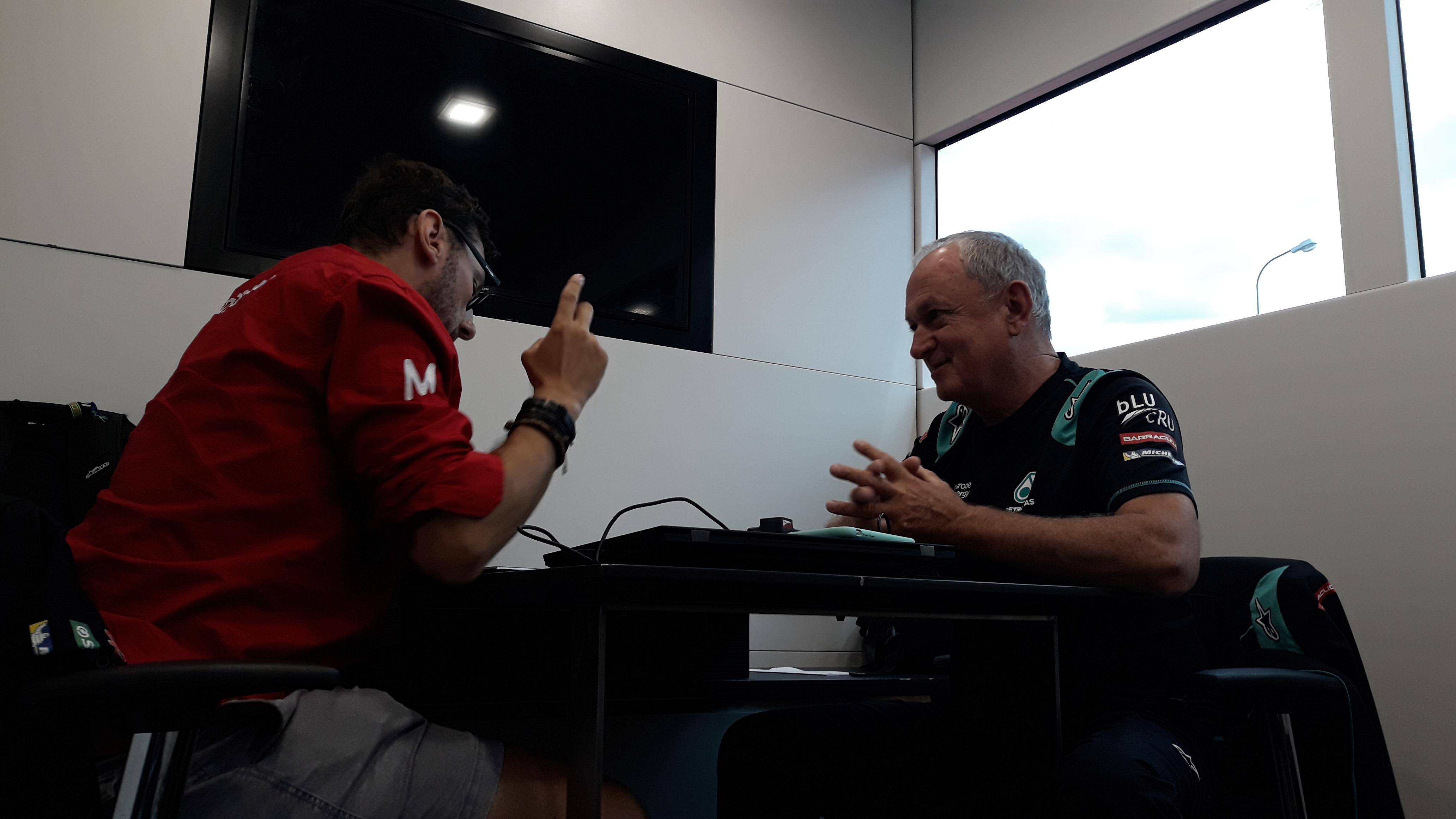 Entrevista con Ramón Forcada (y 2) – Los pilotos, la electrónica y qué necesita Yamaha