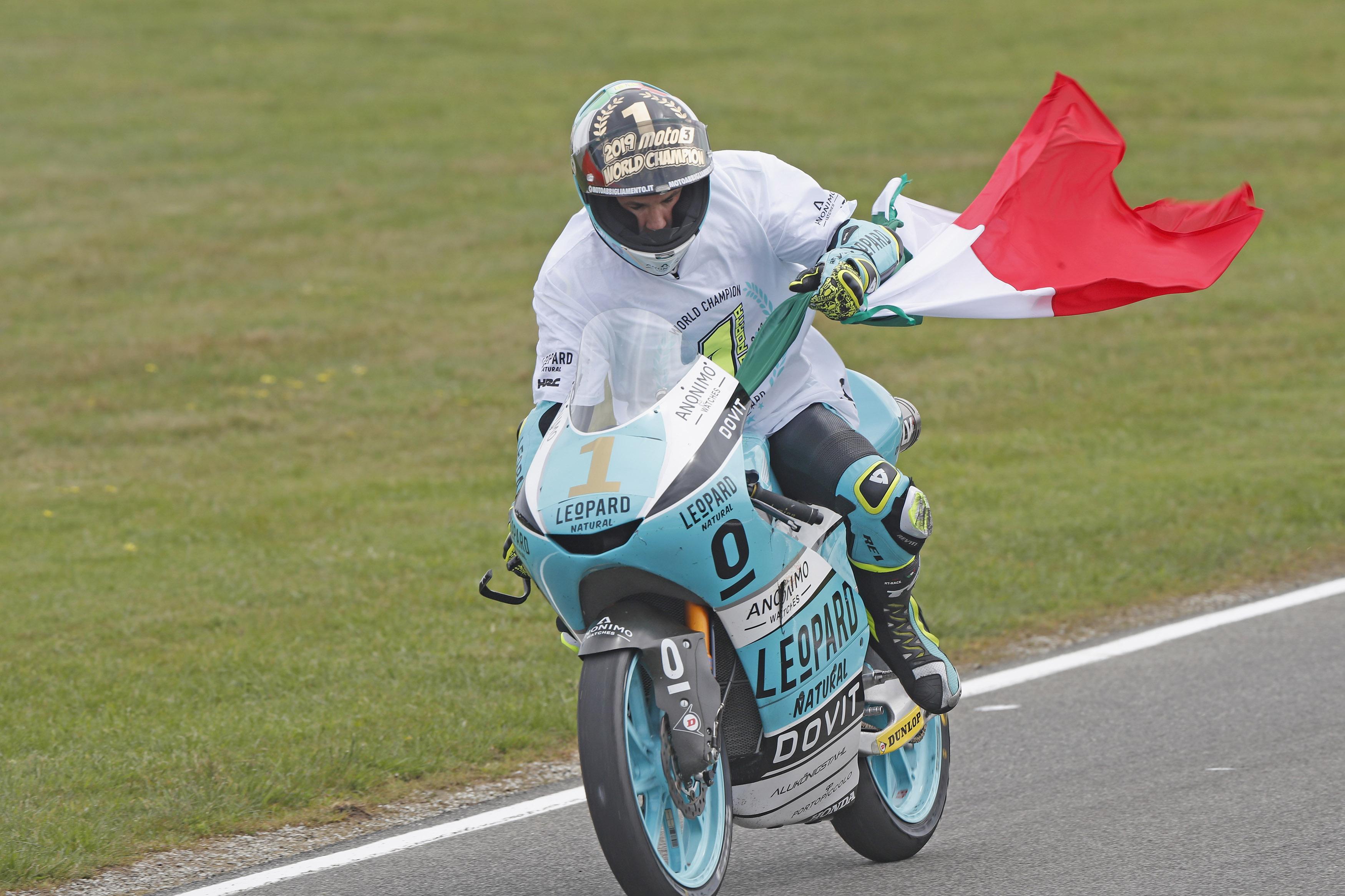 El camino de Lorenzo Dalla Porta hasta el título mundial de Moto3